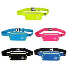 LED Slim Bum Bag Sports Fanny Pack Jogging Running Waist Belt Money Phone Pouch