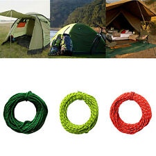 HOT Reflective Rope Pack 50' Safety Tent Cord for Hiking Boating Camping