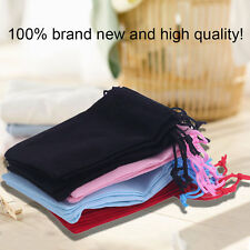 100pcs Gift Bag Jewelry Display 5x7cm Velvet Bag/jewelry Bag/organza Pouch NEWSM
