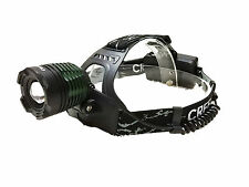 Zoomable 1000 lumen Cree XM-L T6 LED Hunting Headlight Headlamp Head Light Torch