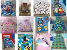 Disney TV  Cartoon Charactors Childrens Single Duvet Quilt Cover Bedding Set