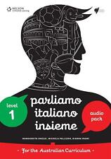 Parliamo Italiano Insieme 1 Audio and Video Pack by Gianna Pagni Compact Disc Bo