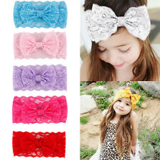 Girl's Cute Lace Butterfly Headwear Baby Headband Bowknot Hair Band Fashion