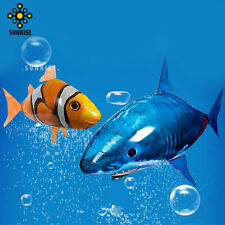 Air Swimmer Remote Control RC Inflatable Balloon Flying Nemo Shark Blimp 2017