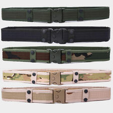 Men's Tactical Military SWAT Belts Unisex Outdoor Waistband Belts New
