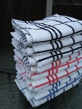 3 x Terry tea towels 100% cotton thick  quality tea towel  dish drying kitchen