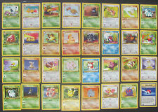 Rare 1st Edition Pokemon Jungle Cards - Wizards of the Coast / Uncommon/ Common