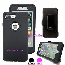For Apple iPhone 7 & 7 Plus Defender Case Cover Belt Clip fits Otterbox Defender