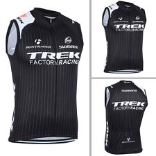 Mens Team Cycling Vests Bike Racing Outfits Tops Wear Sleeveless Jersey Pockets