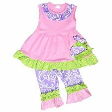 Unique Baby Girls Damask Easter Bunny Easter Outfit Outfit