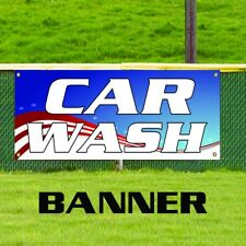 Car Wash Clean Wax Spa Auto Detailing Advertising Business Vinyl Banner Sign