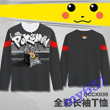Pokemon GO Gamer Black Long Sleeve Andlt Clothing T Shirt M-XXL Free Shipping