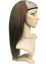 "100% Human Hair Half Wig pretty easy use 6 colors  16"" 20"" 24"" 28"""