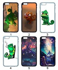 Tangled Castle Chameleon Pascal For Apple iPhone iPod & Samsung Galaxy Hard Case
