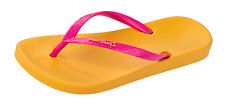 Ipanema Tropical Womens Flip Flops / Sandals - Yellow Pink - 81030