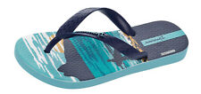 Ipanema Surfer Kids Flip Flops / Beach Sandals - Navy Sky - See Sizes