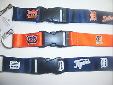 2017 MLB DETROIT TIGERS OFFICIAL LICENSED BREAKAWAY LANYARD KEYCHAIN SPORT TEAM