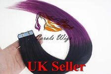 Best Quality 5A 18'' German Tape-In 100% Premier Remy Human Hair Extensions UK