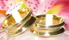 WOMENS MENS 8MM INVERTED  wedding band WEDDING ring str227 stainless steel gold