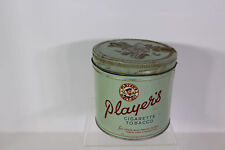 Players Navy Cut Cigarette Tobacco Tin, Duty Tax on Label
