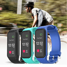 Smart Wristband Bracelet Heart Rate Monitor Fitness Activity Tracker Pedometer
