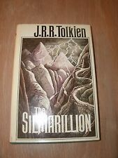 The Silmarillion by J. R. R. Tolkien (1977, Hardcover), Includes Map