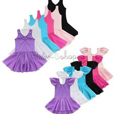 Ballet Tutu Princess Dress Dance Wear Costume Girls Kids Leotard Skating Skirts