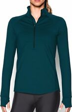 Under Armour UA Ladies ColdGear Lightweight 1/2 Zip- Midnight Navy