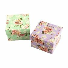 Vintage Flower Print Premium Double Sided Favour and Trinket Boxes! Wedding