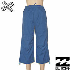 BILLABONG 'GET UP' BOYS 3/4 TROUSERS LONG SHORTS BLUE AGE 14 16 BNWT RRP £33
