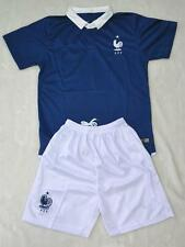 WORLD CUP CHILDS BOYS FRANCE HOME shirt and short 3-14 years