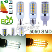 G4 E27 E14 G9 5050 SMD 24 27 48 69 LED Spot Corn Light Bulb Lamp Warm Cool White