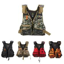 Camo Life Jacket Foam Vest for Fishing Surfing Sailing Boating Swimming Survival