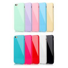 Soft Candy Silicone Rubber Gel Case Cover Skin For Apple iPhone 5 5S 6 6S Plus