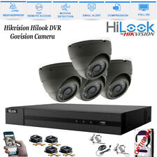 4CH CCTV DVR Record 2.4MP 1080P Camera IR-CUT Home Security System Kit 4 Camera
