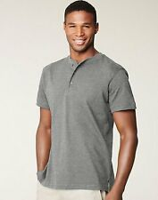 Men's Hanes Signature Jersey Cotton Ultimate Henley