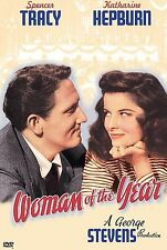 Woman of the Year (DVD) Spencer Tracy & Katharine Hepbun  - Read the Description