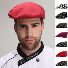 Chef Hat Beret style Cap Chili peppers design Cook Kitchen Waiter