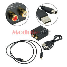 Digital 3.5mm Optical Coaxial Toslink to Analog Audio Convert Adapter RCA L/R M