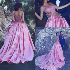 Satin Formal Evening Dress Formal Bridal Dresses Prom Party Gown Pageant Dress