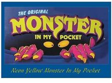 Monster in my Pocket - Series 1 - Mini Figure MIMP Matchbox MEG - Neon Yellow