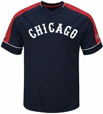 Chicago White Sox Cooperstown Majestic Mens Vintage Hit Jersey Big & Tall Sizes