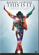 Michael Jackson's This Is It (DVD, 2010) New Sealed
