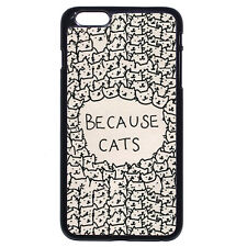 Custom Many Because Cats For Apple iPhone iPod & Samsung Galaxy Hard Case Cover
