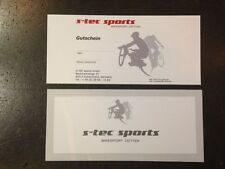 COUPON Gift voucher Value voucher S-TEC-SPORTS gift Christmas XMAS