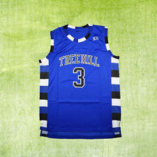 Lucas Scott 3# Ravens One Tree Hill Basketball Jersey Men Blue