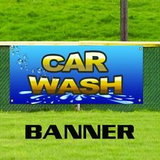 Car Wash Business Banner Business Sign Indoor Outdoor Wax Detail Automobile