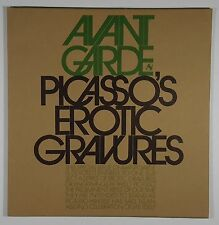 1969 AVANT GARDE Magazine #8 Pablo Picasso EROTIC GRAVURES Engravings Drawings