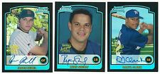 2003 Bowman Chrome REFRACTOR AU RC Single Cards On-Card Certified Auto Rookie 03