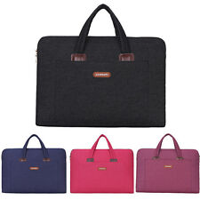 12 13 14 15 15.6 inch Laptop Sleeve Bag Carrying Case Pouch Briefcase Handbags